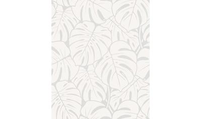 Marburg Vliestapete »weiß, pearl«, floral, restlos abziehbar kaufen