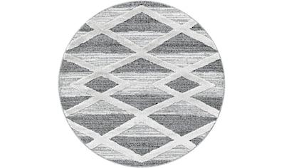 Ayyildiz Teppich »PISA 4709«, rund, 20 mm Höhe kaufen