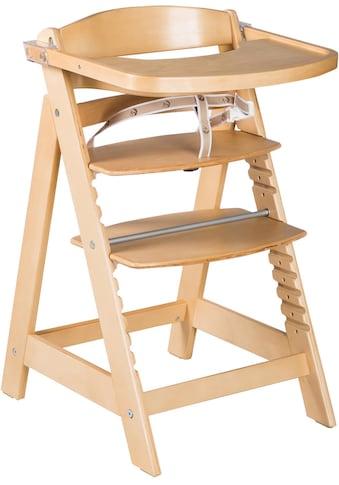 roba® Hochstuhl »Treppenhochstuhl Sit Up Click & Fun, natur«, aus Holz kaufen