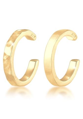 Elli Paar Ohrklemmen »Elli Ohrringe Earcuff Set Geo-Organic Look, 0304210119« kaufen