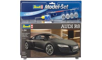 Revell® Modellbausatz »Model Set, Audi R8«, (Set), 1:24, Made in Europe kaufen