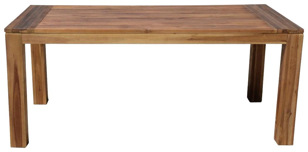 GARDEN PLEASURE Gartentisch TOPEKA Akazienholz 180x90 cm braun