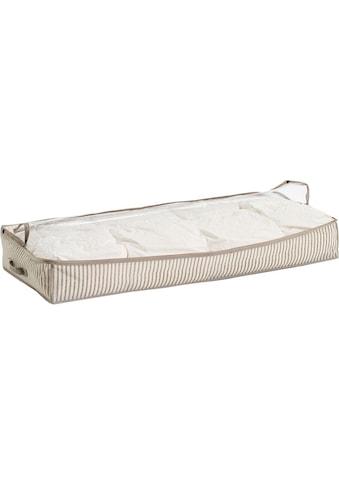 Zeller Present Aufbewahrungstasche »Stripes«, Vlies, beige kaufen