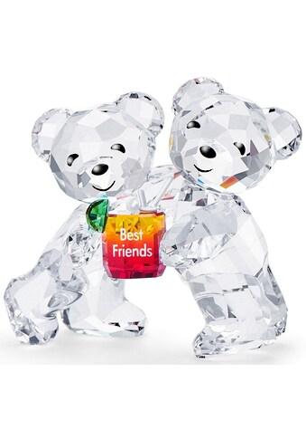Swarovski Dekofigur »Kris Bär – Beste Freunde, 5491971«, Swarovski® Kristall mit... kaufen