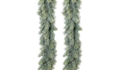 Creativ deco Kunstgirlande, 120 Tannenspitzen je Girlande, Länge 180 cm kaufen
