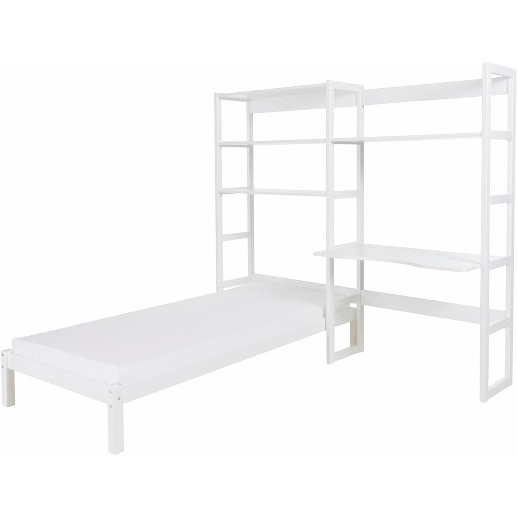 Hoppekids Jugendzimmer-Set »Skagen«, (Set, 13 tlg.), inkl. Bett und Schreibtisch