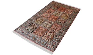 Kayoom Seidenteppich »R.Taj 9314«, rechteckig, 10 mm Höhe, Einzelstück mit Zertifikat,... kaufen