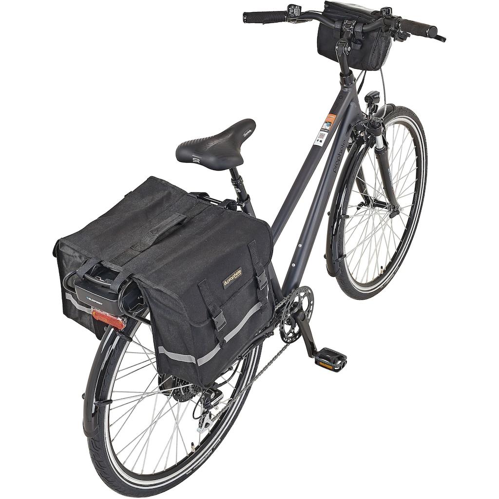 Prophete E-Bike »Entdecker e9000 Damen«, 8 Gang, Shimano, Acera, Heckmotor 250 W