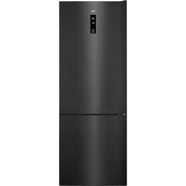 AEG Kühl-/Gefrierkombination, 201 cm hoch, 59,5 cm breit