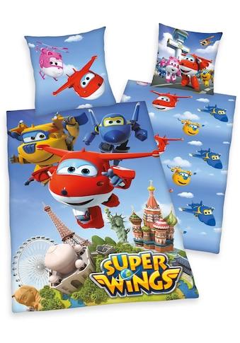 Kinderbettwäsche »Super Wings«, mit Motiv kaufen