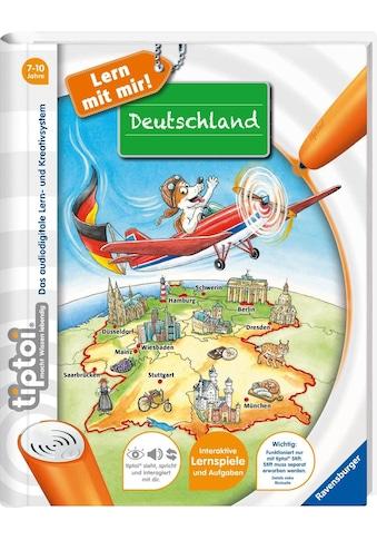 Ravensburger Buch »tiptoi® Lern mit mir! - Deutschland«, ; Made in Germany kaufen