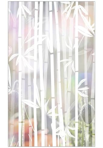 MySpotti Fensterfolie »Look Bamboo white«, halbtransparent, glattstatisch haftend, 60... kaufen