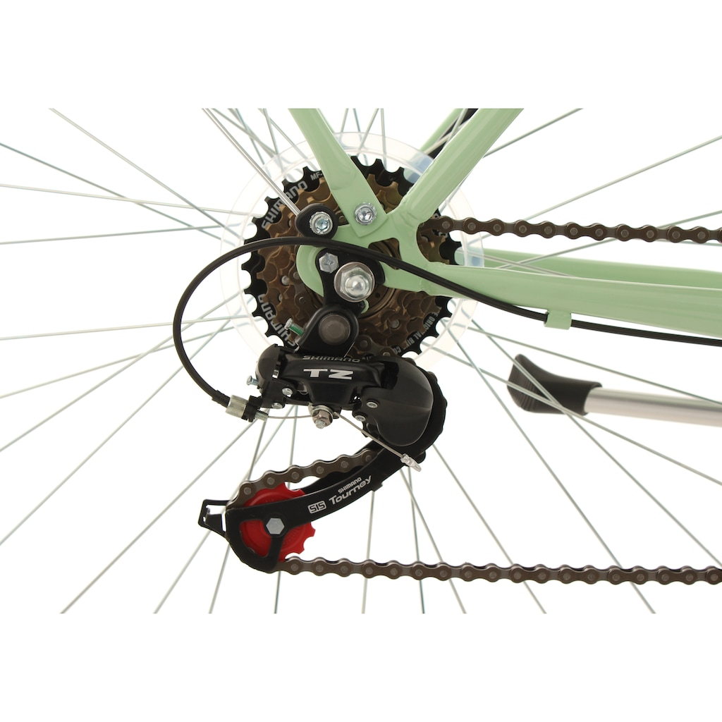 KS Cycling Cityrad »Verona«, 6 Gang, Shimano, Tourney Schaltwerk, Kettenschaltung