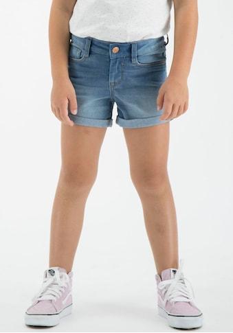 Garcia Jeansshorts, mit kleinem Saumaufschlag kaufen