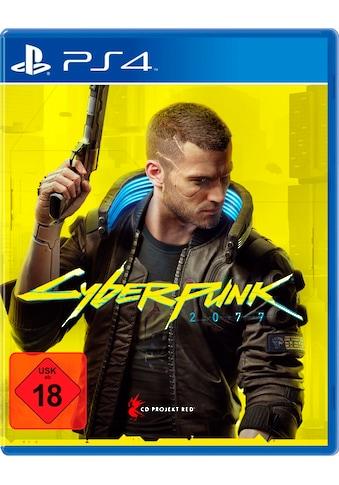 CD PROJEKT RED® Spiel »Cyberpunk 2077 - Day 1 Edition«, PlayStation 4 kaufen