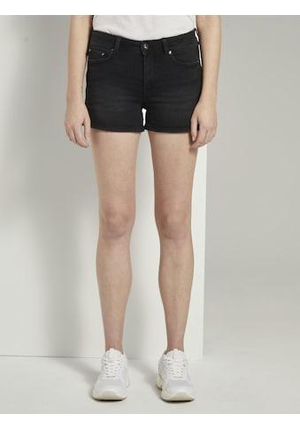 TOM TAILOR Denim Jeansshorts »High-Waist Jeans-Shorts mit Push-Up-Effekt« kaufen