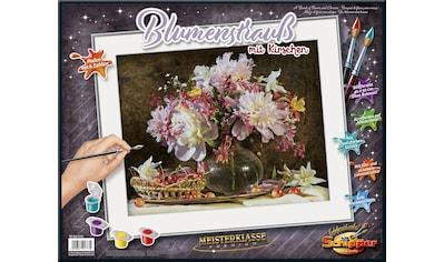 Schipper Malen nach Zahlen »Meisterklasse Premium, Blumenstrauß mit Kirschen«, Made in... kaufen