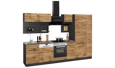 HELD MÖBEL Küchenzeile »Tulsa«, mit E - Geräten, Breite 300 cm kaufen