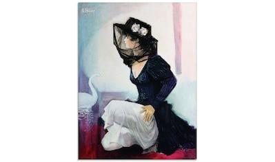 Artland Glasbild »Nebel«, Frau, (1 St.) kaufen