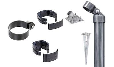 GAH Alberts Zaunpfosten »Verbinder Fix-Clip Pro®«, 2-seitig für Ø 6x153 cm, zum Aufschrauben kaufen
