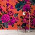 living walls Fototapete »Walls by Patel Spanish Rose 2«