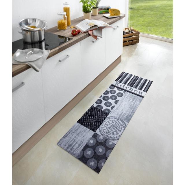 Küchenläufer, »Tomato«, Zala Living, rechteckig, Höhe 5 mm, maschinell gewebt