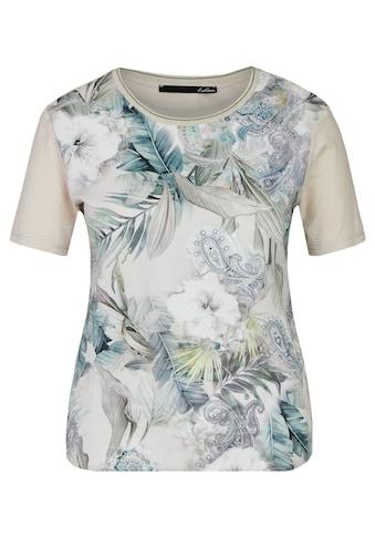 LeComte T-Shirt, mit Paisley-Muster und halblangen Ärmel kaufen