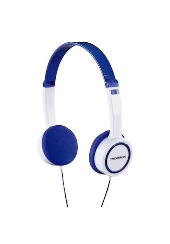 Thomson Kinderkopfhörer, On - Ear, Leichtgewicht, mit Kabel, Blau »Kopfhörer HED1105BL« kaufen