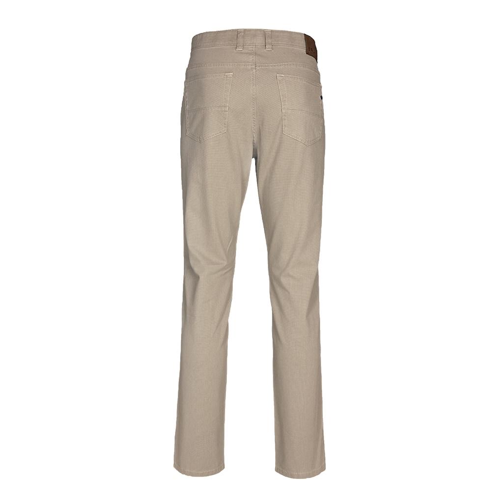 Brühl 5-Pocket-Hose »Genua III«, mit cleanem Warenbild