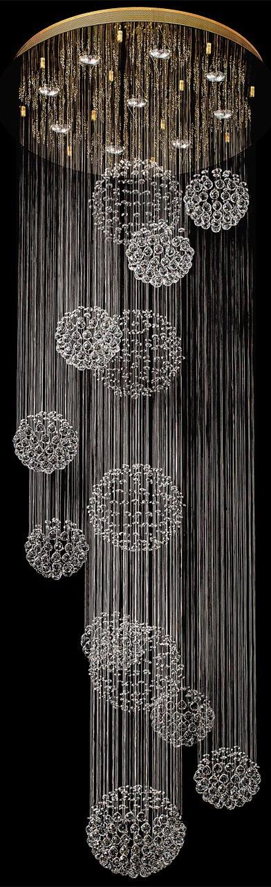 CHIARO LED Deckenleuchte Cascade, GU10, 1 St., Warmweiß, LED Deckenlampe