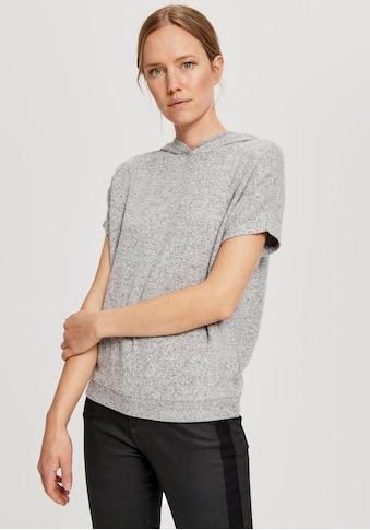 OPUS Kapuzensweatshirt »Gubine«, mit kurzen Ärmeln kaufen