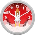 EUROTIME Wanduhr »Raketenstart, 82133-07«