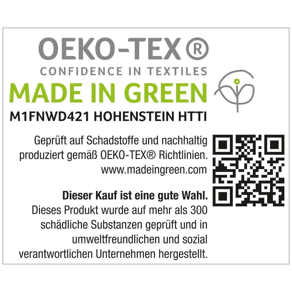 Schlafgut Massageliegenbezug »Therapieliege«, MADE IN GREEN by OEKO-TEX®