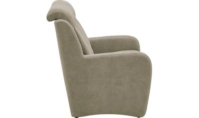 VILLA BECK 3-Sitzer »Varese«, inklusive Kopfteilverstellung, wahlweise mit Sitzvorzug... kaufen