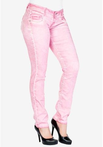 Cipo & Baxx Slim-fit-Jeans, mit Slim Fit-Schnitt kaufen