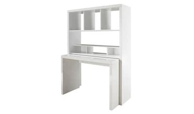 HMW Collection Büro-Set »Danzig«, mit ausziehbarem Schreibtisch kaufen