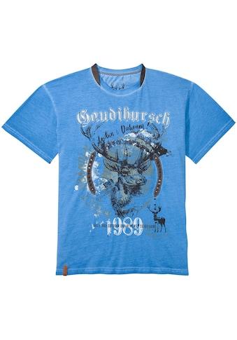MarJo Trachtenshirt, mit Rundhalsausschnitt kaufen