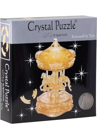 HCM KINZEL 3D-Puzzle »Crystal Puzzle, Karussel transparent« kaufen