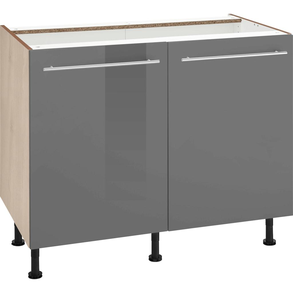 OPTIFIT Unterschrank »Bern«, 30 cm breit, mit 1 Tür mit höhenverstellbaren Füßen, mit Metallgriff