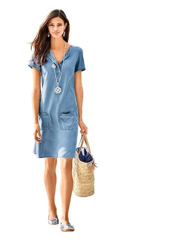 Inspirationen Kleid in Jeans - Optik kaufen