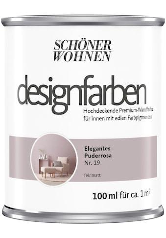 SCHÖNER WOHNEN-Kollektion Wand- und Deckenfarbe »Designfarben«, hochdeckend, Elegantes... kaufen