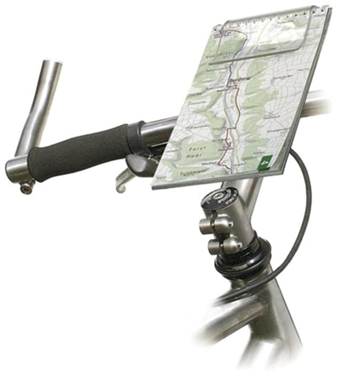 KlickFix Mini Map 2 Fahrrad-Kartenhalter Technik & Freizeit/Sport & Freizeit/Fahrräder & Zubehör/Fahrradzubehör/Fahrradtaschen/Zubehör für Fahrradtaschen