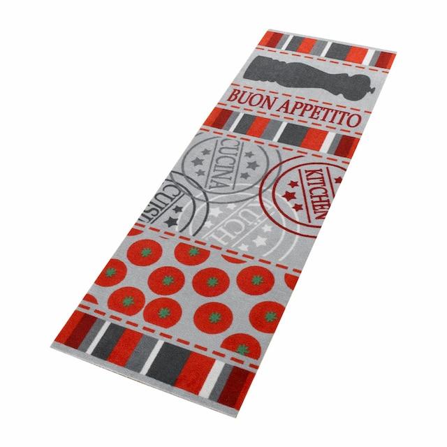 Küchenläufer, »Buon Appetito«, Zala Living, rechteckig, Höhe 5 mm, maschinell gewebt