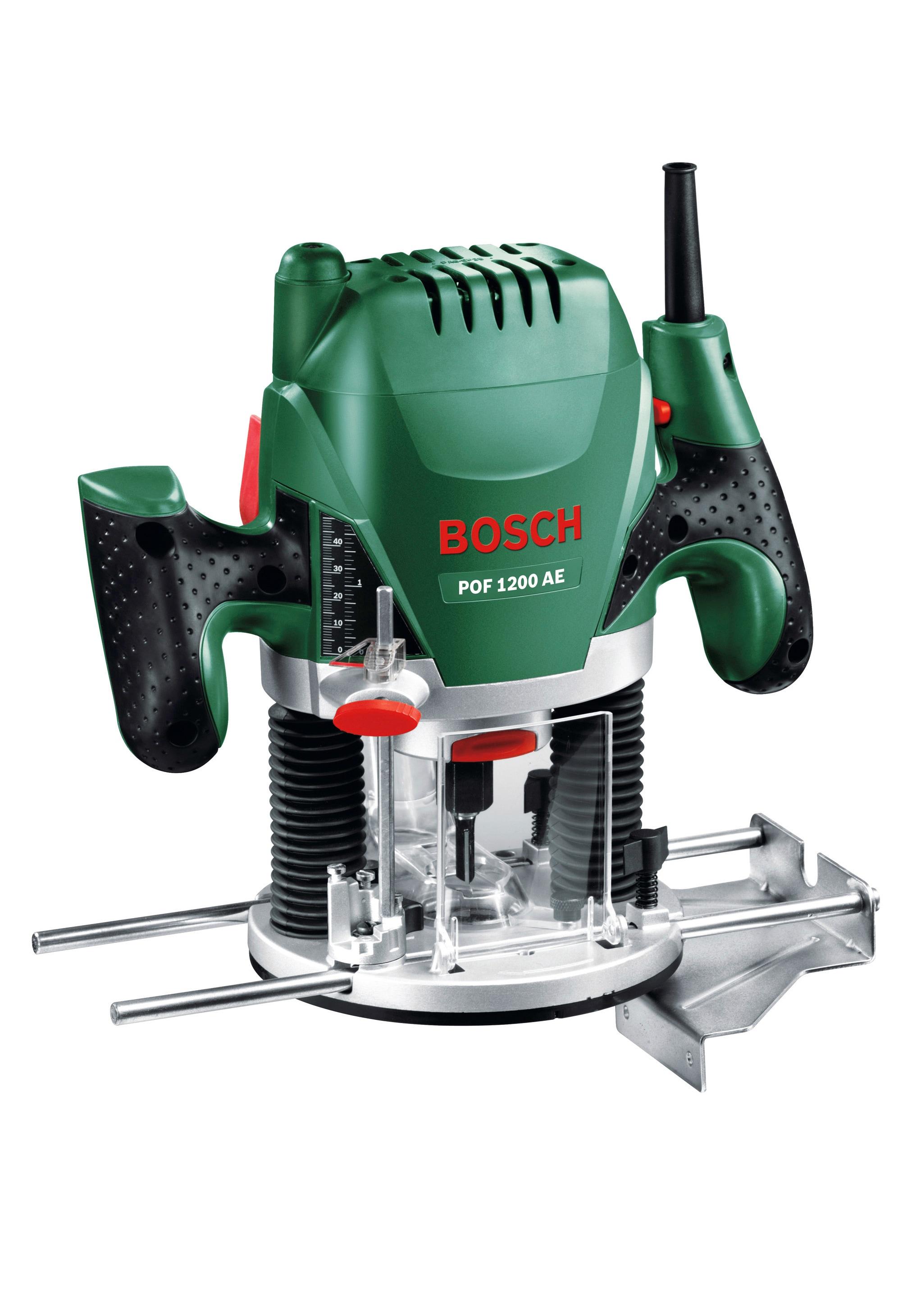BOSCH Oberfräse POF 1200 AE grün Fräsen Werkzeug Maschinen