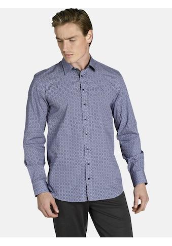 Charles Colby Langarmhemd »DUKE ELTON«, Baumwollhemd mit All Over Print kaufen