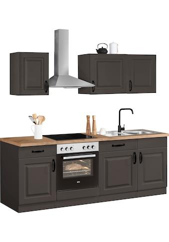wiho Küchen Küchenzeile »Erla«, ohne E-Geräte, Breite 220 cm kaufen
