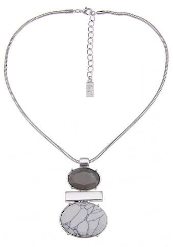 leslii Halskette mit ovalem Stein - Anhänger kaufen