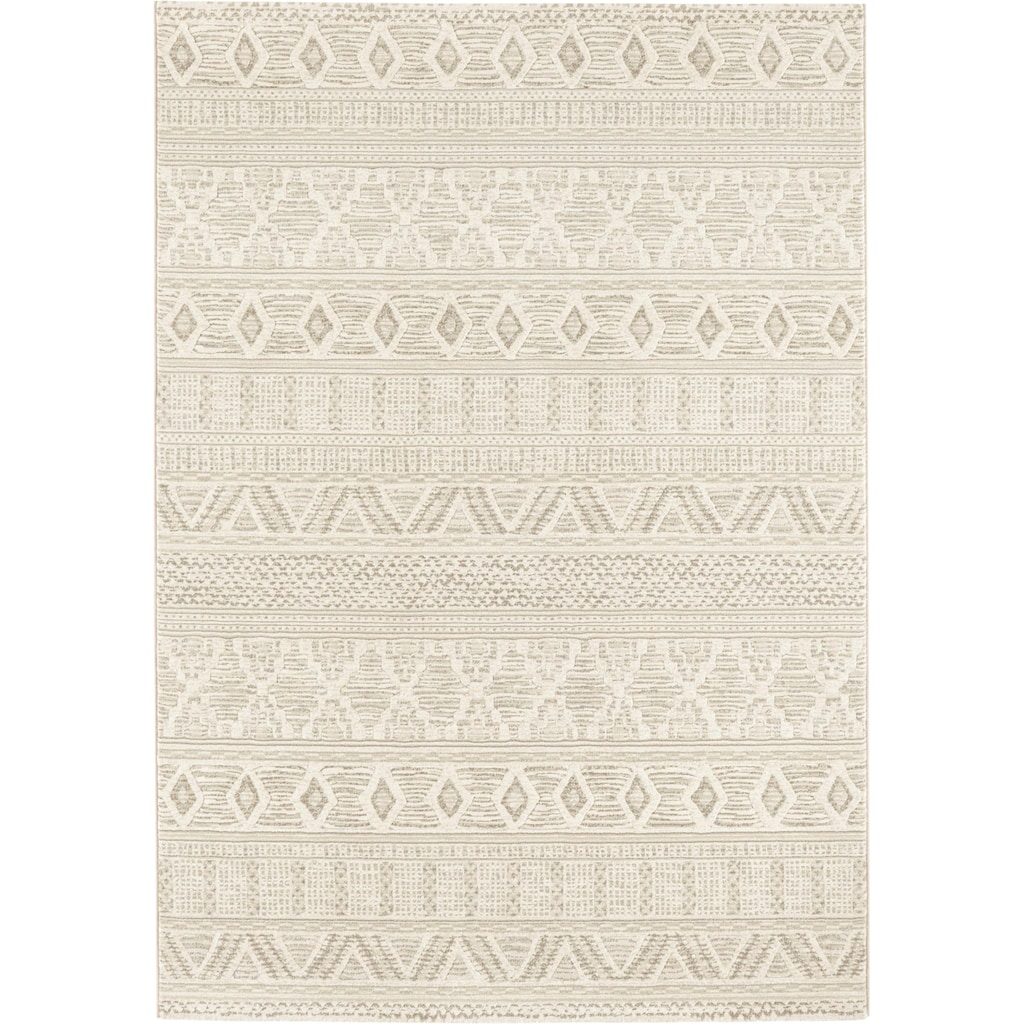 ELLE Decor Teppich »Roanne«, rechteckig, 11 mm Höhe, dichter Kurzflor, Boho- Ethno-Look, Wohnzimmer