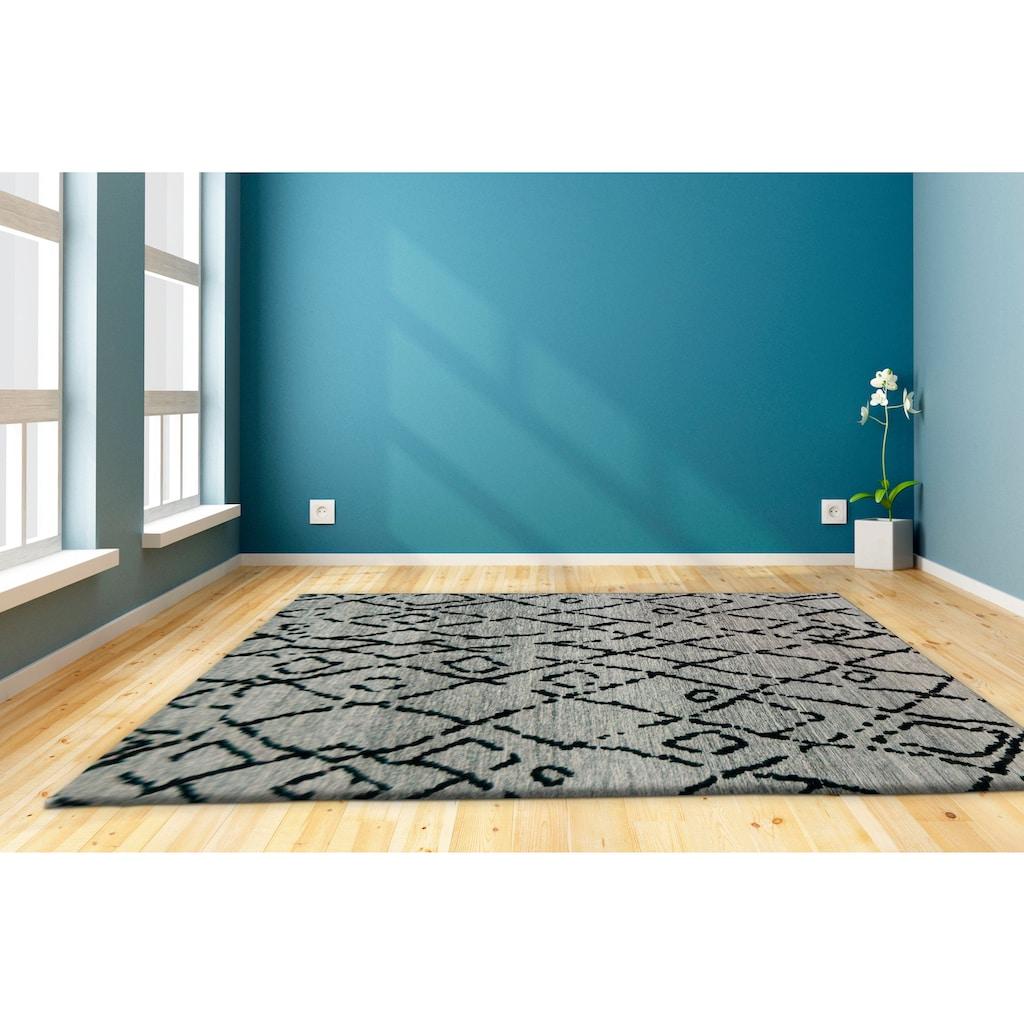 andas Teppich »Corton«, rechteckig, 10 mm Höhe, vintage, Wohnzimmer