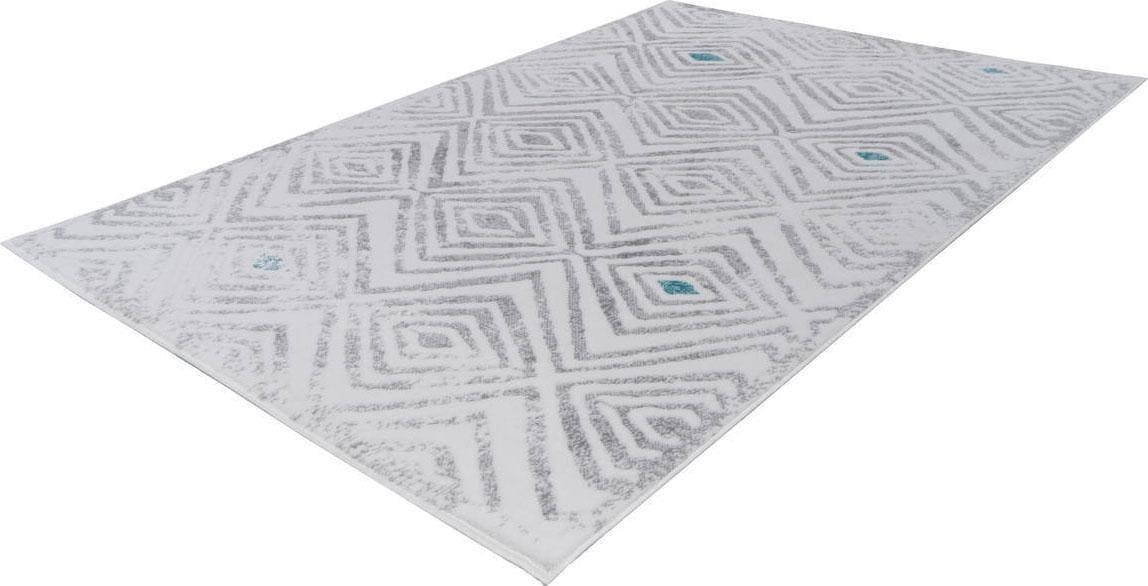 Teppich Vancouver 410 Kayoom rechteckig Höhe 10 mm maschinell gewebt